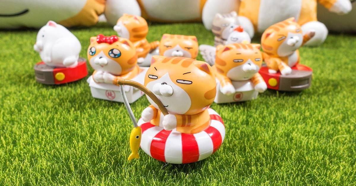 【白爛貓 x 全家便利商店】白爛貓迴力車加價購活動,療癒指數破表!
