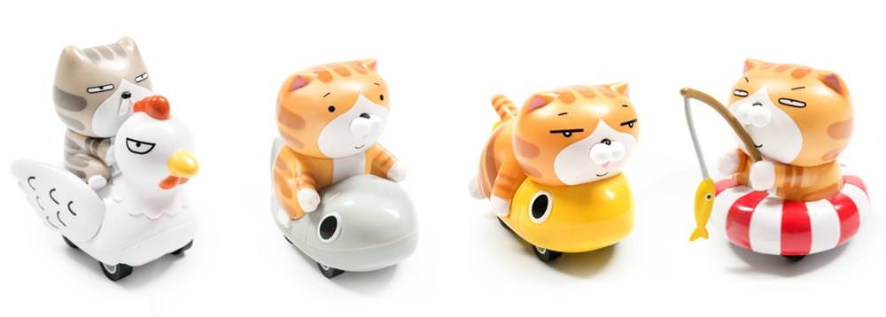 白爛貓迴力車4