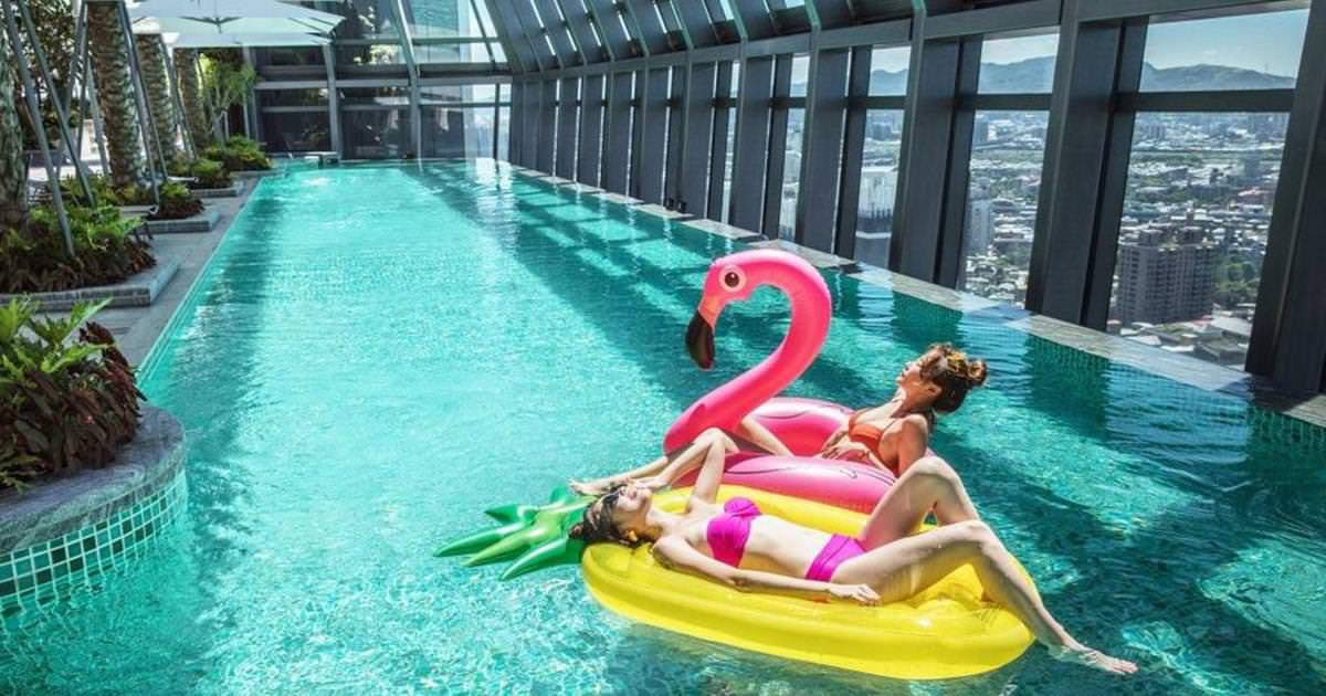 【親子暑假旅遊】板橋凱撒大飯店:今夏最Fun鬆、CP值破表的高檔親子飯店!