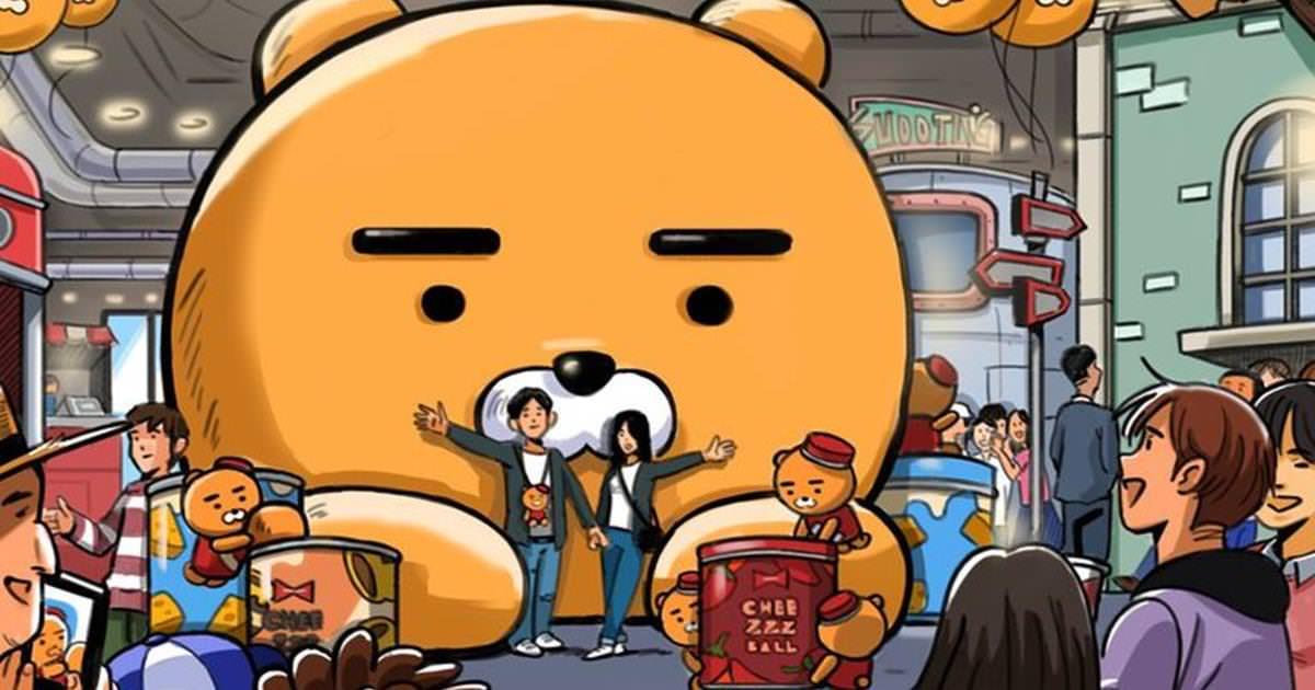 全球第一座【Kakao Friends VR 樂園】首爾打卡新熱點,與Ryan近距離接觸!