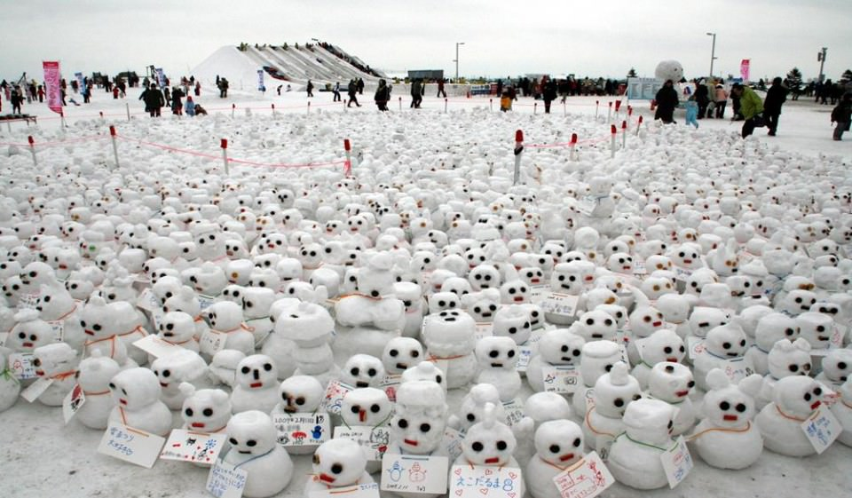 【2020北海道雪祭】日本最大規模雪祭,冬天就到札幌、旭川打~雪~仗!