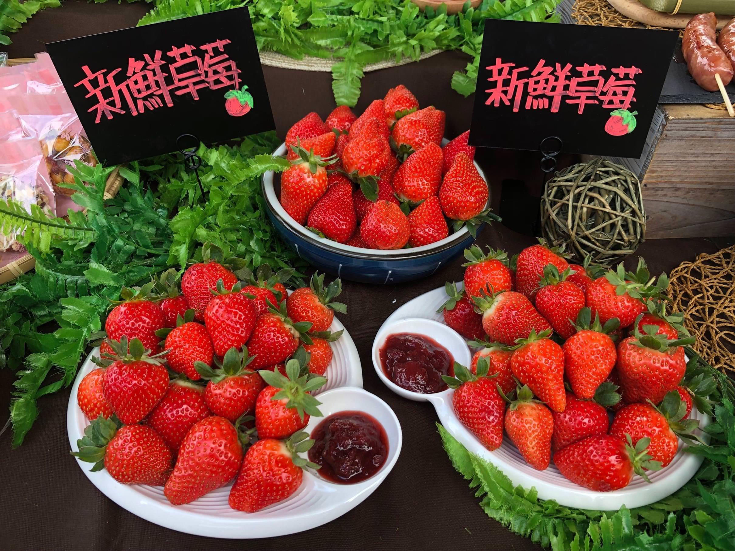 【2020內湖草莓季】3~4月盛產期、新鮮又大顆的酸甜滋味就在莓好時光!