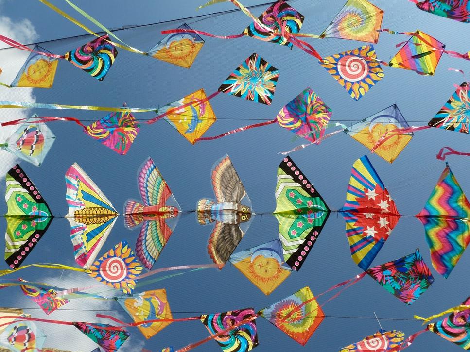 【2020澎湖風箏節】最「風」狂的風動裝置藝術、糖果降落傘、特技風箏