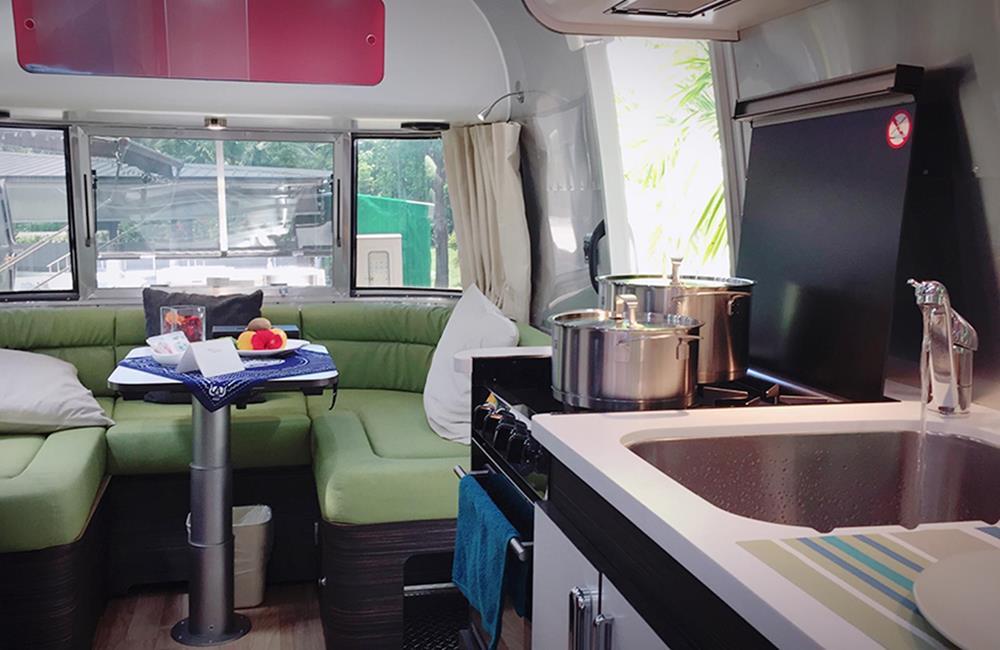 台東池上日暉國際渡假村露營車 Airstream夢想體驗營區