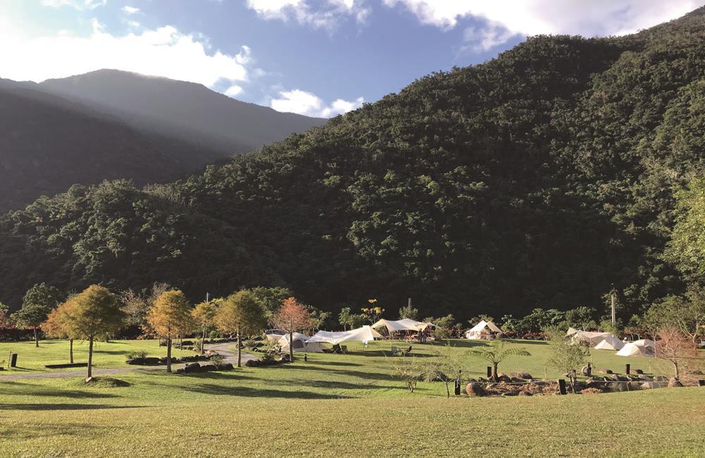 宜蘭露營推薦 那山那谷