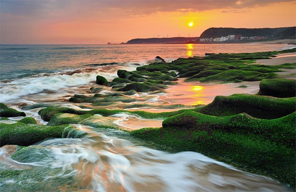 老梅石槽 老梅石槽交通 老梅石槽海岸步道 老梅沙灘 北海岸景點